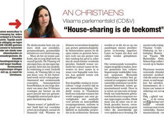 Housesharing is de toekomst