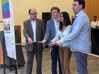 Opening expo 'Hoekstenen' in de VELINX