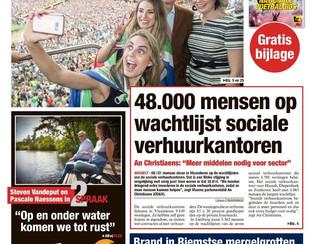 5362 kandidaten op de wachtlijst van de Limburgse sociale verhuurkantoren