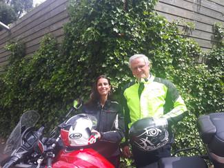 Kris Peeters en An Christiaens in de bres voor motorrijders