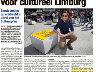 Eindelijk concrete acties voor Cultuurplan Limburg