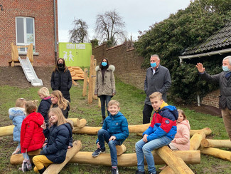 Nieuwe speeltuin in Lauw geopend
