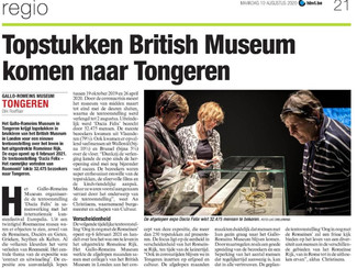 GRM sluit succesvol 'Dacia Felix' af, nieuwe tentoonstelling i.s.m. British Museum