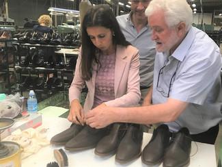 Voka-zomerstage bij schoenenfabrikant Ambiorix