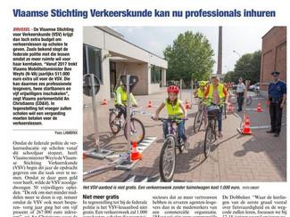 511.000 euro extra voor verkeersles op Vlaamse scholen