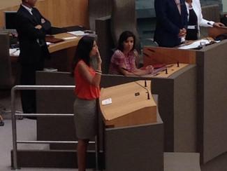 An legt eed af in het Vlaams Parlement