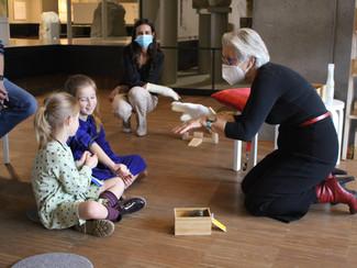 Supergidsen komen terug naar het Gallo-Romeins Museum
