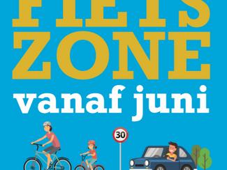 Opening fietszone
