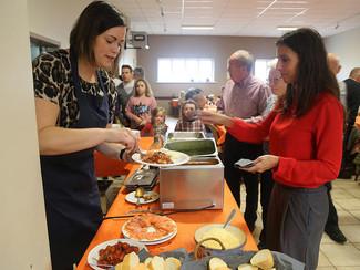 Genieten op de eetdag van CD&V Tongeren, Pasta Di Noi