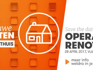 Save the Date: Operatie Renovatie op 28 april