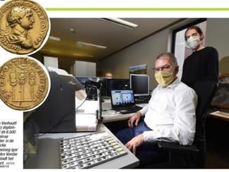 Romeinse muntcollectie gaat online
