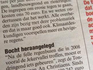 Tongeren scoort goed in Vlaamse erosiebeleidsindicator