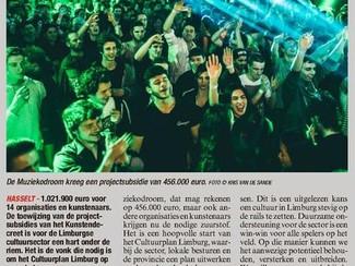 Lezersbrief: Cultuurplan moet de Limburgse cultuursector structureel ondersteunen