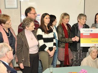 10.0000 euro voor het Sint-Gilliskelderke dankzij  Solidariteitsklik.be