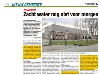 Productiecentra voor zacht water lopen vertraging op