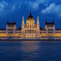 Будапешт вечером