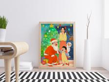聖誕全家福