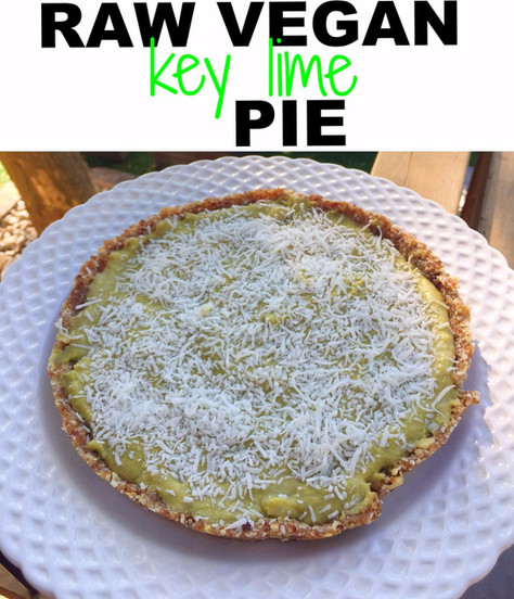 Raw Vegan Key Lime Pie