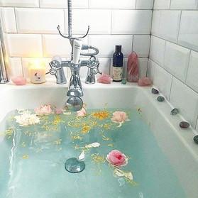 Turn your bathroom into a crystal sanctuary