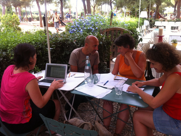 Listen to public space - Workshop n°1