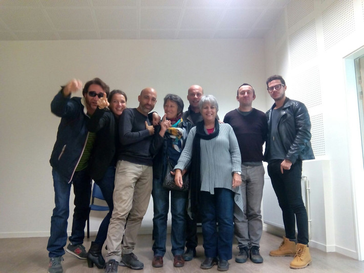 Listen to public space - Résidence Noirlac / France