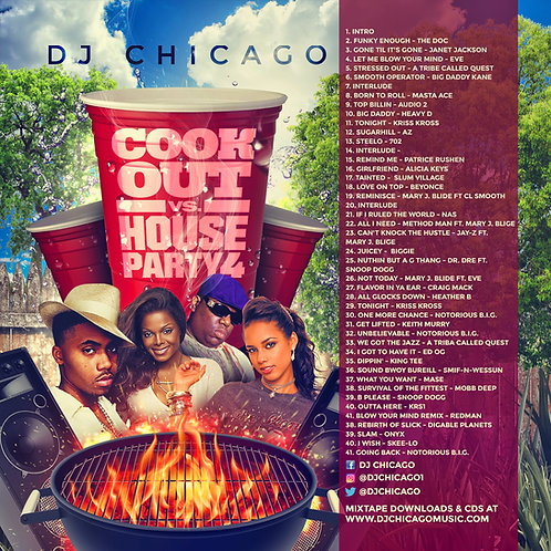 COOK OUT VS. HOUSE PARTY 4
