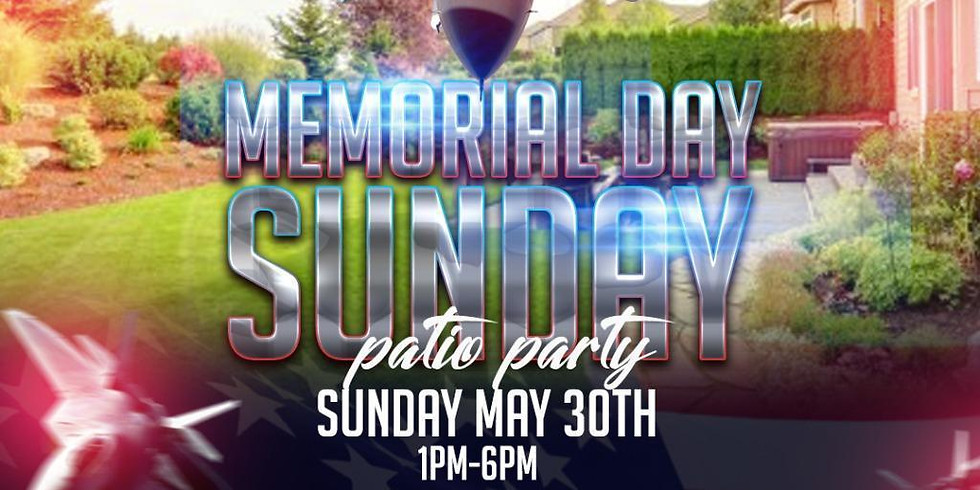 The Memorial Sunday Patio Party