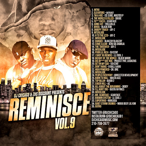 REMINISCE 9 (DOWNLOAD ONLY)