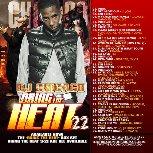 BRING THE HEAT 22 (DOWNLOAD)