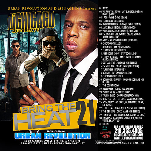 BRING THE HEAT 21 (DOWNLOAD)