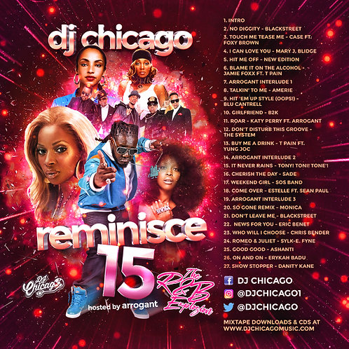 REMINISCE 15 (R&B EXPLOSION) DOWNLOAD