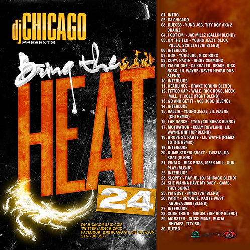 BRING THE HEAT 24 (DOWNLOAD)