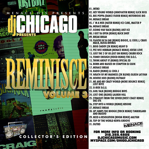 REMINISCE 3 (DOWNLOAD ONLY)
