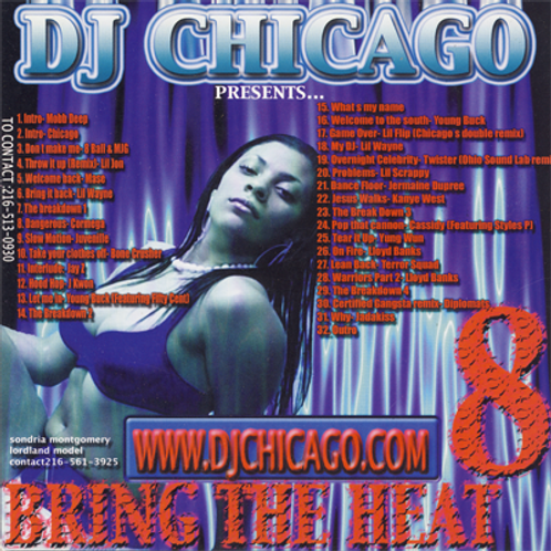 BRING THE HEAT 8 (DOWNLOAD)