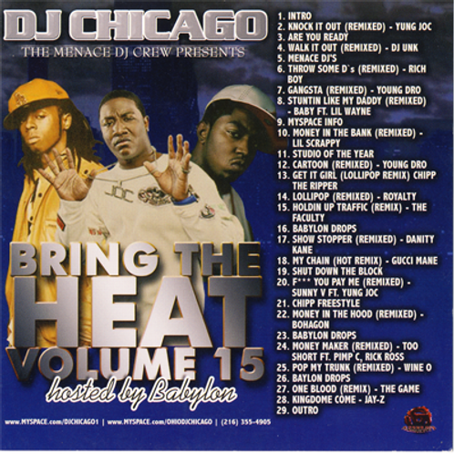 BRING THE HEAT 15 (DOWNLOAD)