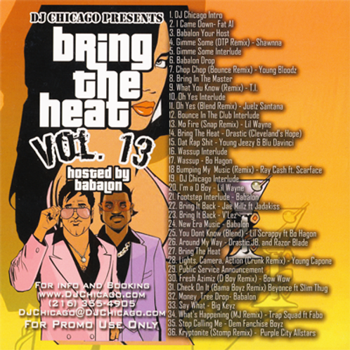 BRING THE HEAT 13 (DOWNLOAD)