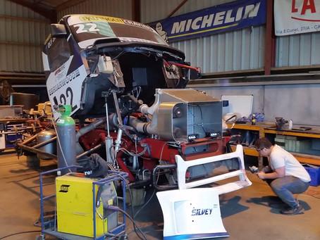 Race truck modifications