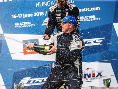 """T SPORT RACING AMONG THE """"BIG BOYS"""" AT THE FIA ETRC!"""