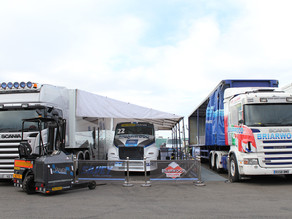 Race truck set-up & motorsport marketing in the UK