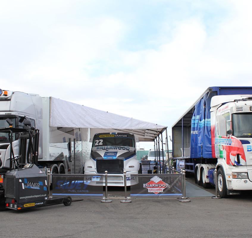 Janes Trucksport_Unit 8 Motorsport Systems Silverstone 2015