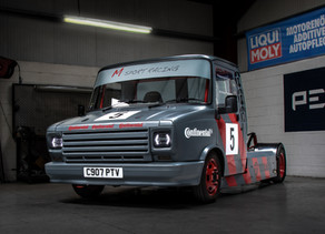Sherpa-Transformation into road-legal Mini Race Truck