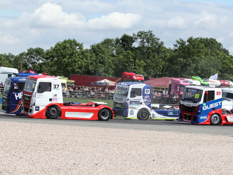 Convoy in the Park truck festival at Donington