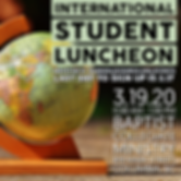20.03.19 International Student Luncheon