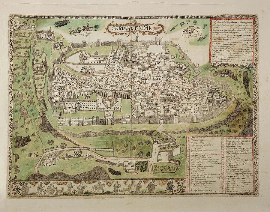 vintage-map-of-jerusalem-israel-16th-cen