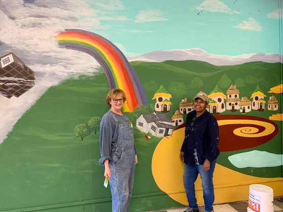 Wizard of Oz Hardware Store Mural 2019