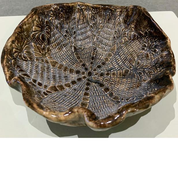 Brown Lace Bowl