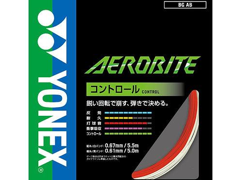 YONEX AEROBITE(コントロール)★ガット張工賃+ガット代★17lbs~35lbsまで