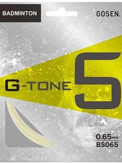 GOSEN G-TONE5  ★ガット張工賃+ガット代★17lbs~35lbsまで