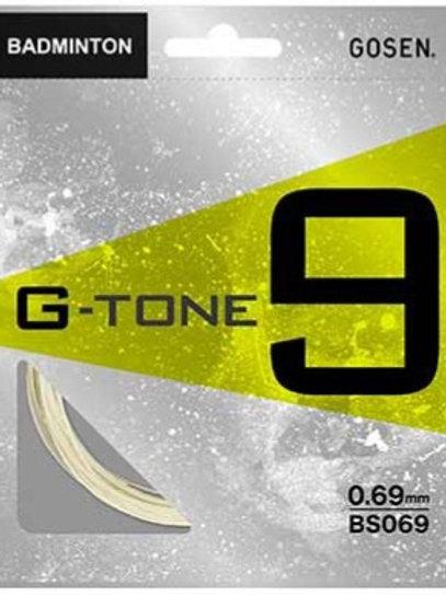 GOSEN G-TONE9  ★ガット張工賃+ガット代★17lbs~35lbsまでの複製