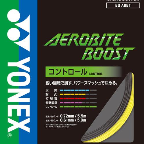 YONEX AEROBITE BOOST(コントロール)★ガット張工賃+ガット代★17lbs~35lbsまで